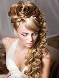 prom hairstyles for long thick hair side curly with braidcurly
