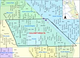 map of calumet michigan cleaning up industrial waste in calumet heights il schaumburg s