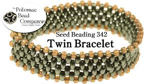 youtube bead bracelet images How to make a twin bead bracelet jpg