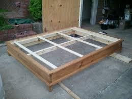Diy King Size Platform Bed With Storage - bed frames platform beds with storage drawers plans homemade