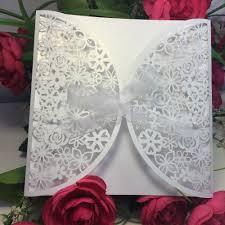 online get cheap flower wedding invitations aliexpress com