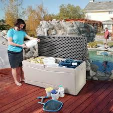 lifetime 130 gallon deck box