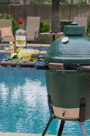 Green Egg Kitchen - healthful memorial day grilling on the big green egg chef