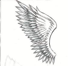 sketches of angel wings related keywords u0026 suggestions sketches