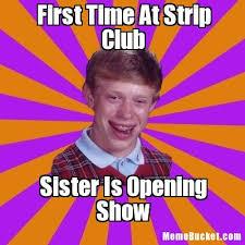 Meme Strip - first time at strip club create your own meme
