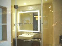 framed backlit mirror bgl 009 bagen china manufacturer