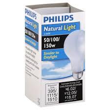 light bulbs most like natural light light bulb natural light 3 way 50 100 150 w wegmans