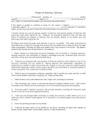 Power Of Attorney Forms Ohio by 100 Special Power Of Attorney Template Free Printable Sample