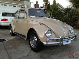 german volkswagen beetle vw bug volkswagen beetle tan savannah beige rare classic vintage
