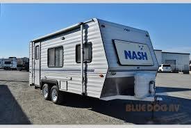 nash travel trailer floor plans used 1994 northwood nash 19 travel trailer at blue dog rv