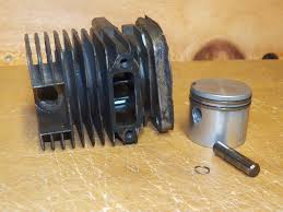 poulan s25da chainsaw piston and cylinder for electronic ignition