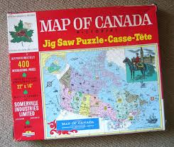 map of canada puzzle the canadian design resource map of canada pictorial jig saw puzzle