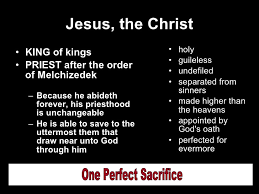 He Is Able To Save To The Uttermost Our Great High Priest
