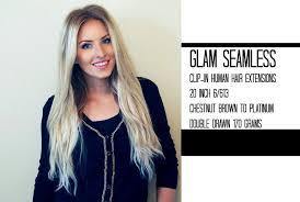glam hair extensions glam seamless clip in hair extension review