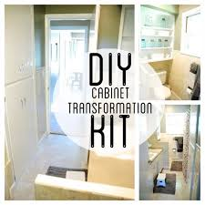 Kitchen Cabinet Restoration Kit Best 25 Cabinet Transformations Ideas On Pinterest Rustoleum