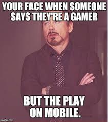 Make A Meme Mobile - face you make robert downey jr meme imgflip