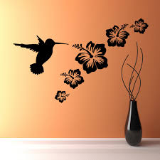 bathroom wall decorations flower decals brilliant decal art 3021 x