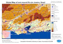 Map Of Rio De Janeiro Torrential Rain In Brazil April 2010 Gsi Home Page