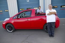japanese nissan pickup this is sparky u2013 the nissan leaf pickup you u0027ll never drive