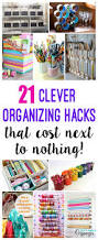 clever cheap or free organization happiness is homemade