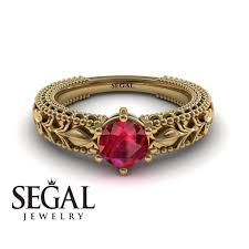 ruby and engagement rings the leafs engagement ring ruby ring no 4 segal