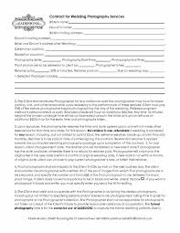Wedding Contract Photography Template 5 free wedding photography contract templates