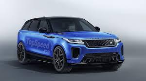land rover svr 2019 range rover velar svr price release date specs
