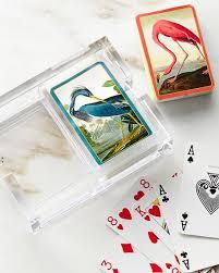 caspari cards caspari audubon cards acrylic holder set neiman