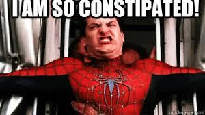 Spiderman Face Meme - i am so constipated ermahgerd spiderman quickmeme