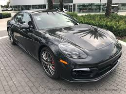silver porsche panamera 2018 new porsche panamera turbo awd at porsche west broward