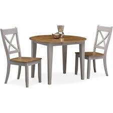 Oak Drop Leaf Table Nantucket Drop Leaf Table Oak And Gray American Signature