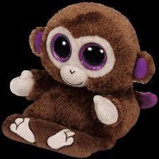 chimps monkey peekaboo phone holder ty 00002