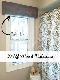 kitchen window valances ideas modern window valance gettabu com