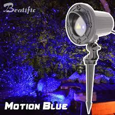 motion laser christmas lights blue laser christmas light projector outdoor holiday garden