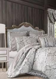 Glitter Bedding Sets Latitude Gold Glitter Stripe And Polka Dot Bed In A Bag Bedding