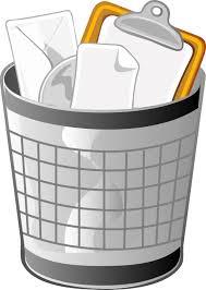 poubelle bureau poubelle de bureau pleine 50478527 jpg