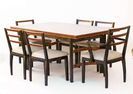 hastings art deco dining table chairs by donald deskey or walter hastings art deco dining table chairs by donald deskey or walter dorwin teague 2
