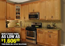 Maple Raised Panel In Stock Kitchens - Stock kitchen cabinets