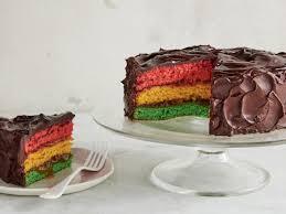 italian rainbow cookie cake recipe food network kitchen food