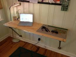 Wall Desk Ideas Wonderful 25 Best Ideas About Wall Mounted Desk On Pinterest Wall