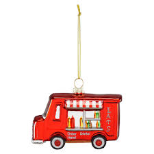buy the food truck glass ornament by ashland at