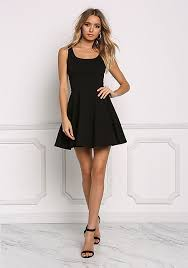 fit and flare dress junior clothing black fit flare dress loveculture