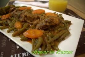 comment cuisiner les haricots verts haricots verts a l agneau en sauce amour de cuisine