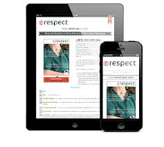 magazine layout size an online magazine and its responsive website g design