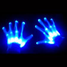 amazon com glowcity light up led skeleton hand gloves clothing