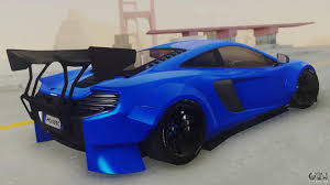 subaru liberty walk mclaren 650s coupe liberty walk for gta san andreas