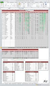 Sle Excel Spreadsheet Templates Hockey Stats Tracker For Excel