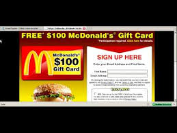 mcdonalds e gift card automatic 50 from mcdonalds with this survey