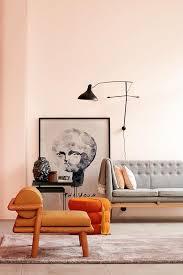 wandgestaltung schöner wohnen poudre schöner wohnen trendfarbe wandfarbe teppic