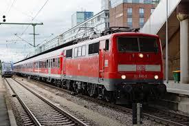 Basel Bad Bf Db Die 111 048 5 Mit Ihrem N Wagen Zug Von Offenburg Nach Basel